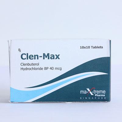 Köpa Clenbuterolhydroklorid (Clen) - Clen-Max Pris i Sverige