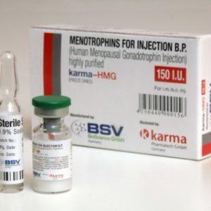 Köpa Human Growth Hormone (HGH) - HMG 150IU (Humog 150) Pris i Sverige