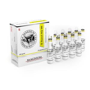 Köpa Stanozolol injektion (Winstrol depå) - Magnum Stanol-AQ 100 Pris i Sverige