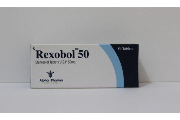 Köpa Stanozolol oral (Winstrol) - Rexobol-50 Pris i Sverige