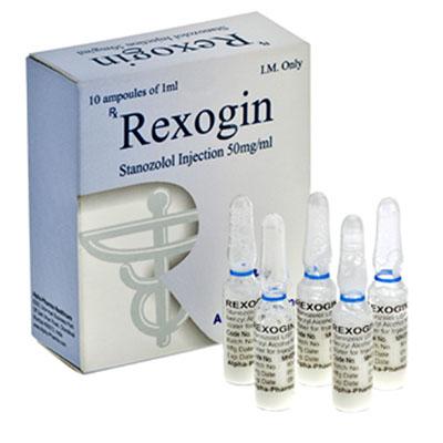 Köpa Stanozolol injektion (Winstrol depå) - Rexogin Pris i Sverige