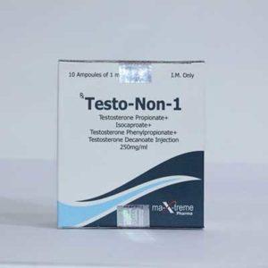 Köpa Sustanon 250 (Testosteron mix) - Testo-Non-1 Pris i Sverige