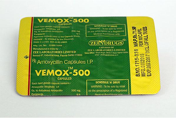 Köpa amoxicillin - Vemox 500 Pris i Sverige